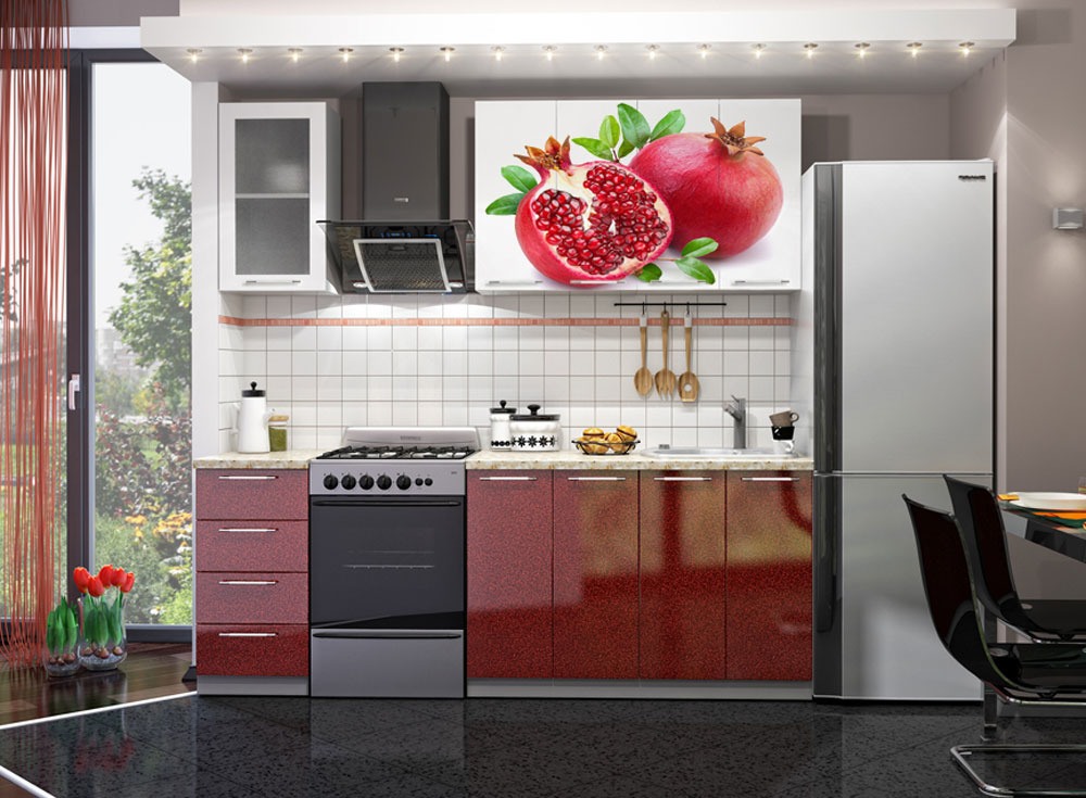 Кухни с фотопечатью на фасадах плюсы минусы
